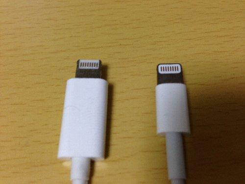 iPhone5用USB充電ケーブル