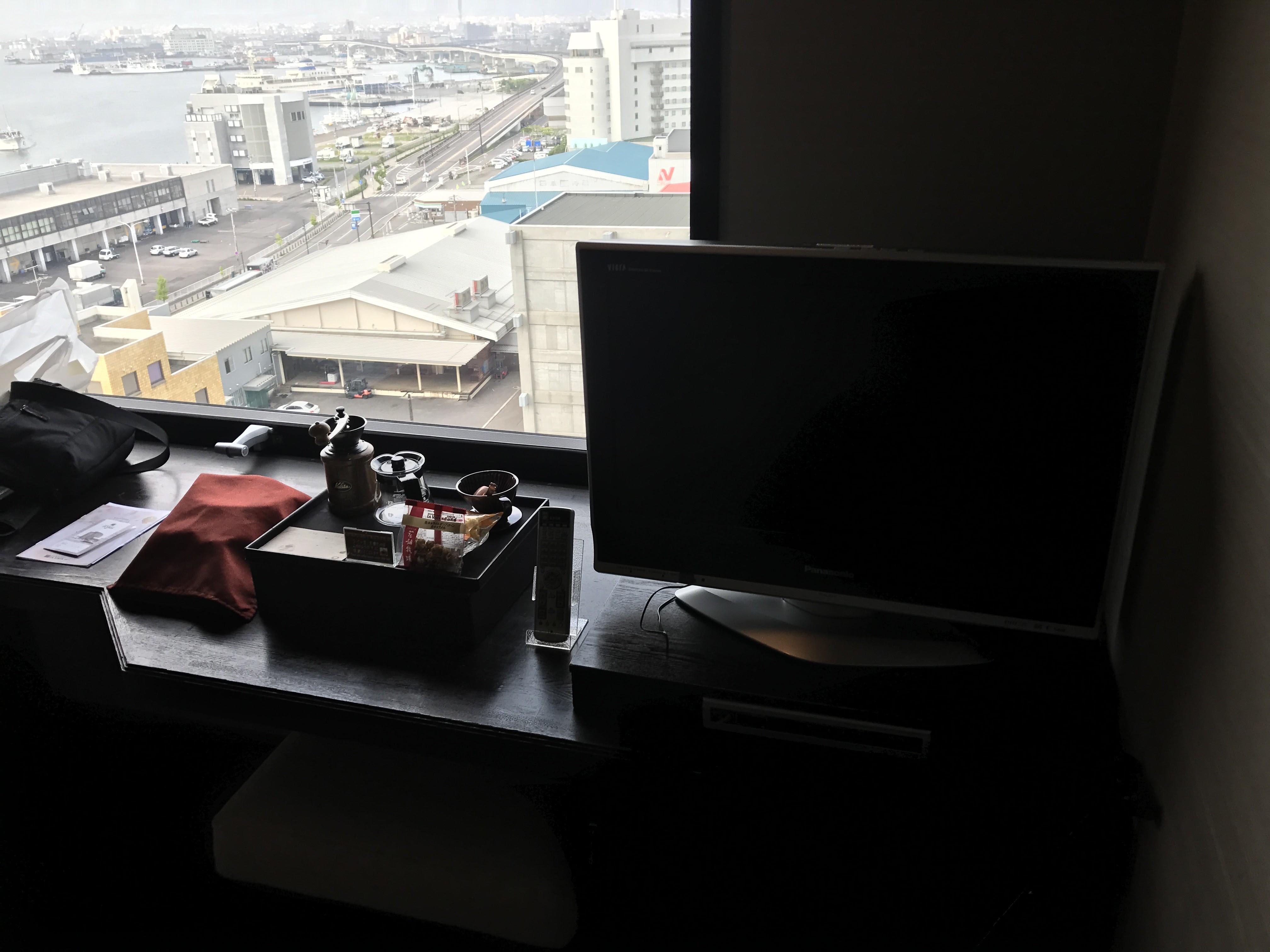 ラビスタ函館部屋テレビ