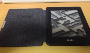 Amazon Kindle Paperwhite用レザーカバー