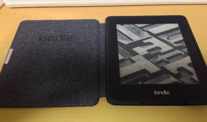 Amazonが設計した最も薄く、最軽量のKindle Paperwhite用レザーカバー 高かったけど買ってよかった
