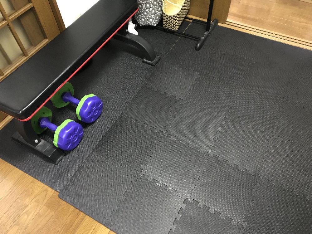 タイルマットトレーニングスペース
