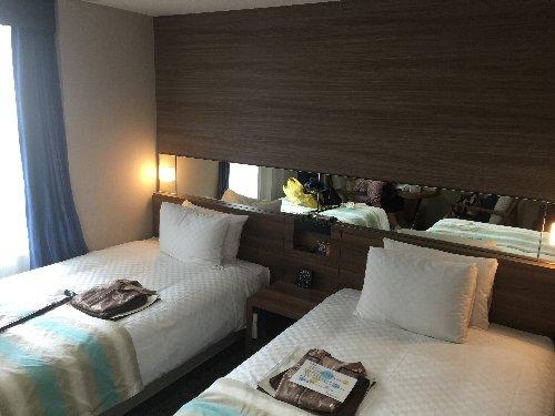 キレイなホテル部屋