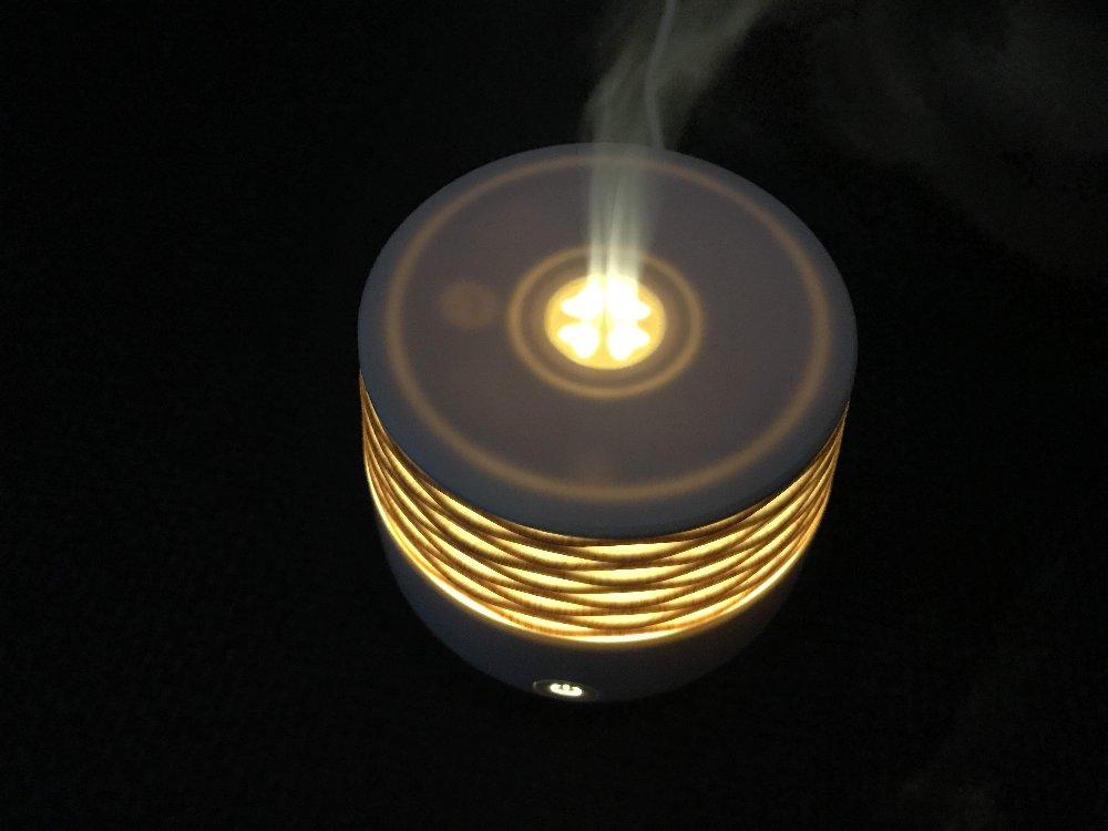 アロマディフューザー温かい灯
