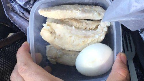 ササミとゆで卵
