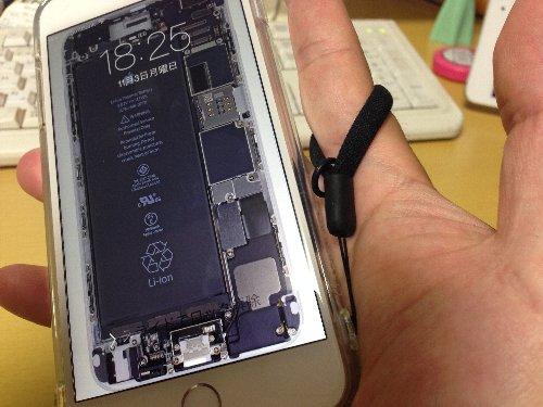 iphone6プラスストラップ
