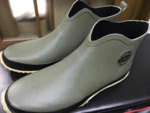 【ワークマン】雨靴 ジーパンでも似合うスニーカーのような履き心地 アンクルレインブーツ