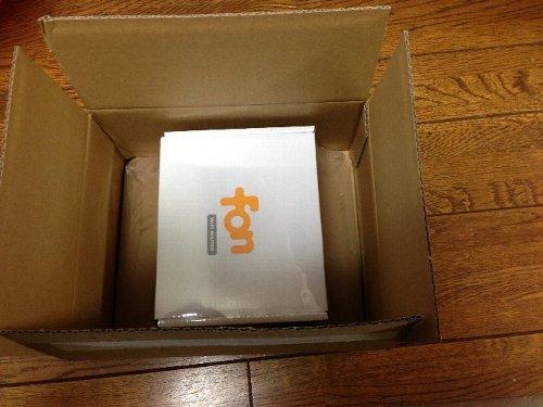 FON 自宅Wi-Fiルーターを無料で設置しました。